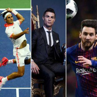 Top 10 vận động viên thu nhập cao nhất thế giới 2018 của Forbes