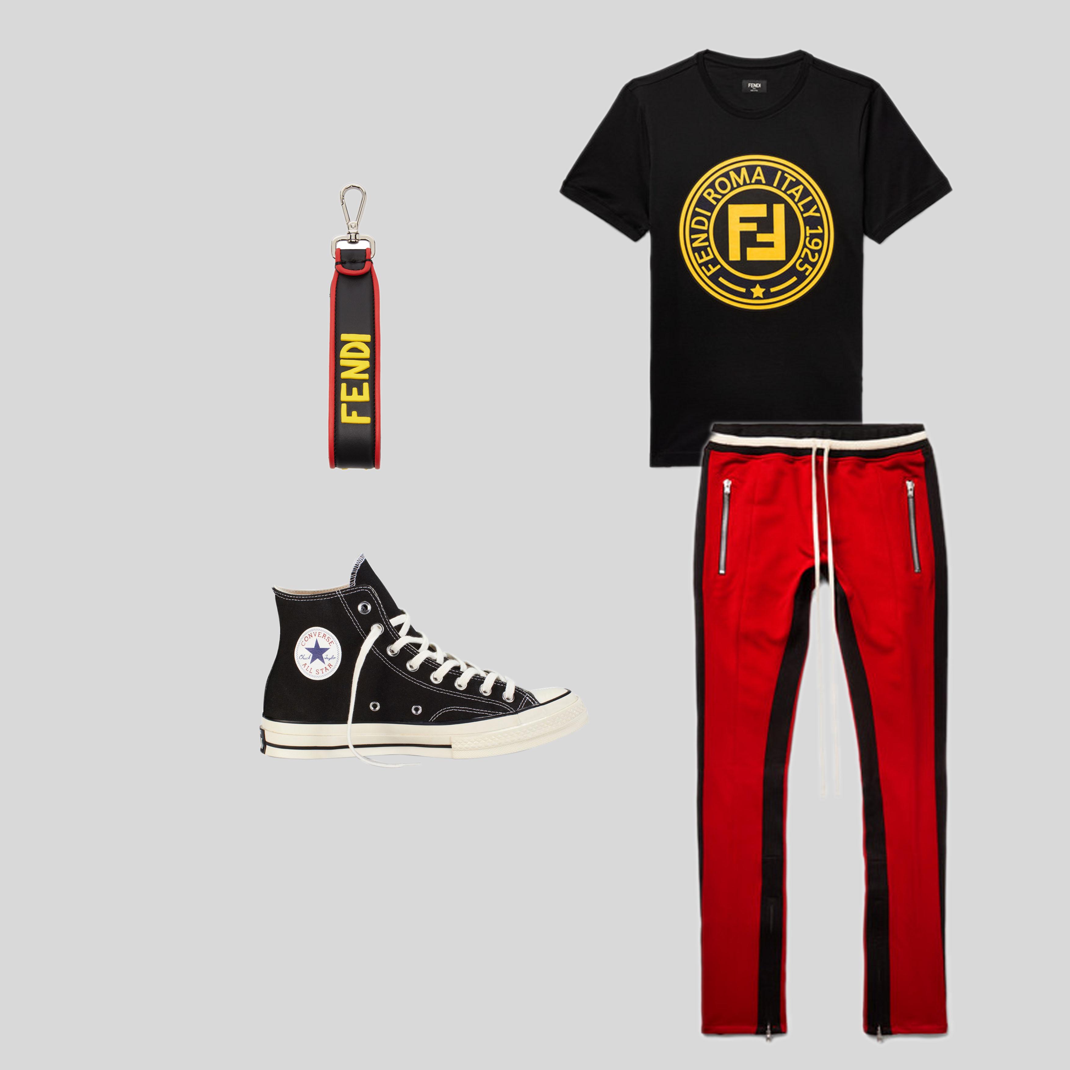ELLE Man Style Calendar mix & match với trang phục in logo thương hiệu. (20)