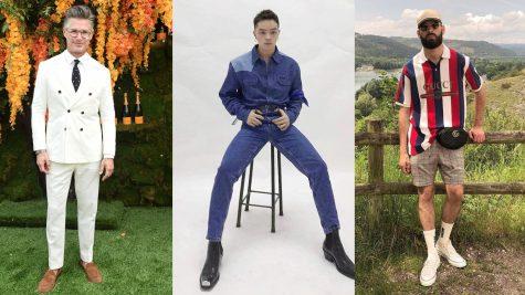 Thời trang sao nam ấn tượng tuần 2 tháng 6/2018