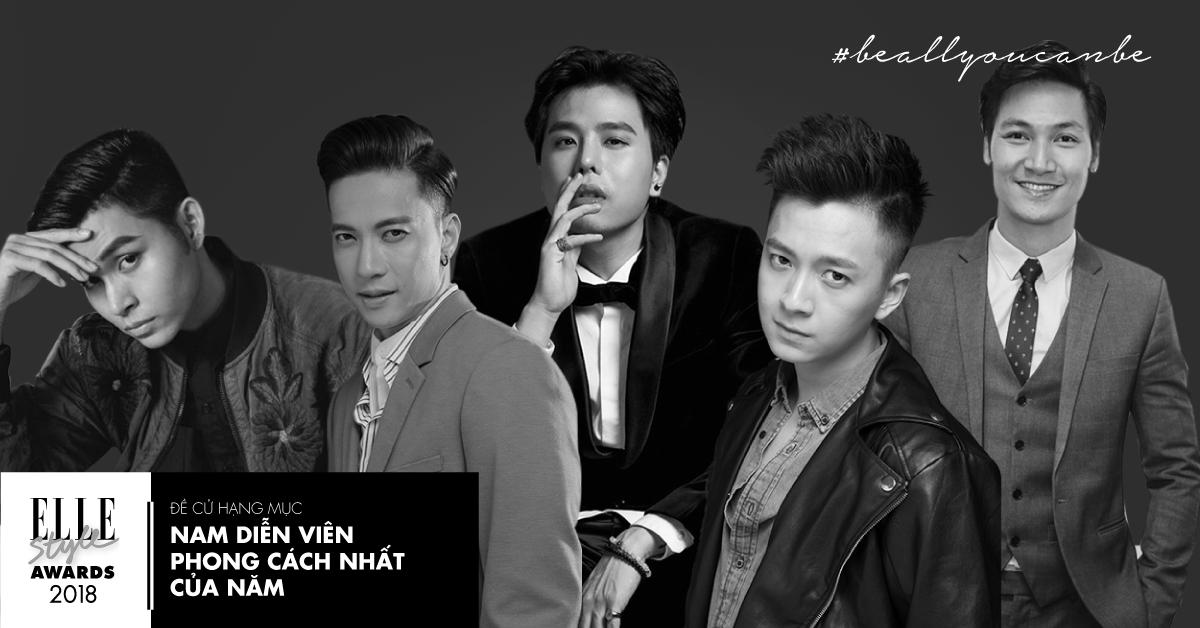 ELLE style awards Nam dien vien