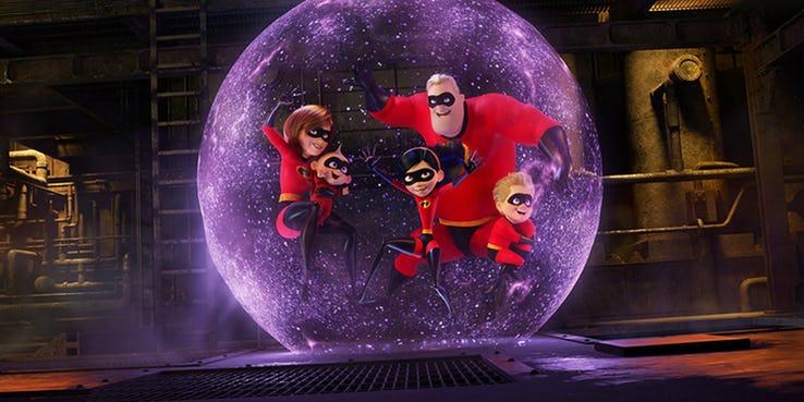 Phim The Incredibles 2 trở lại để tỏa sáng