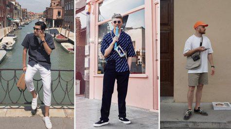 Thời trang sao nam ấn tượng tuần 3 tháng 6/2018