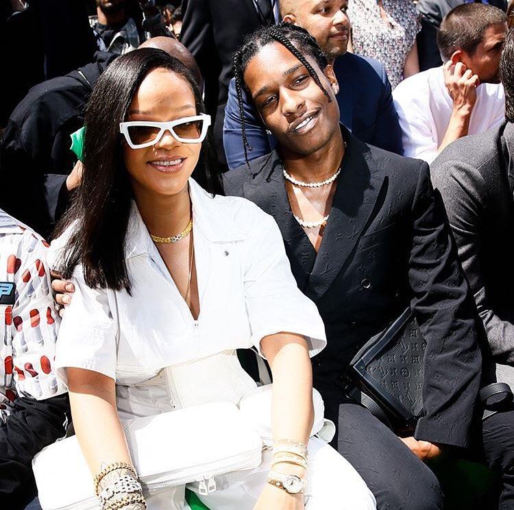 A$AP Rocky và Rihhana. Nguồn ảnh: Instagram A$AP Rocky