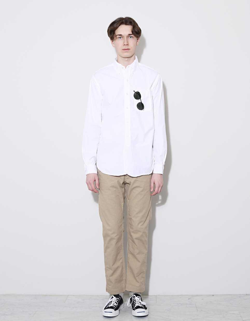 ELLE Man Style Calendar Bảy ngày hoàn hảo với áo sơ mi trắng linen. (17)