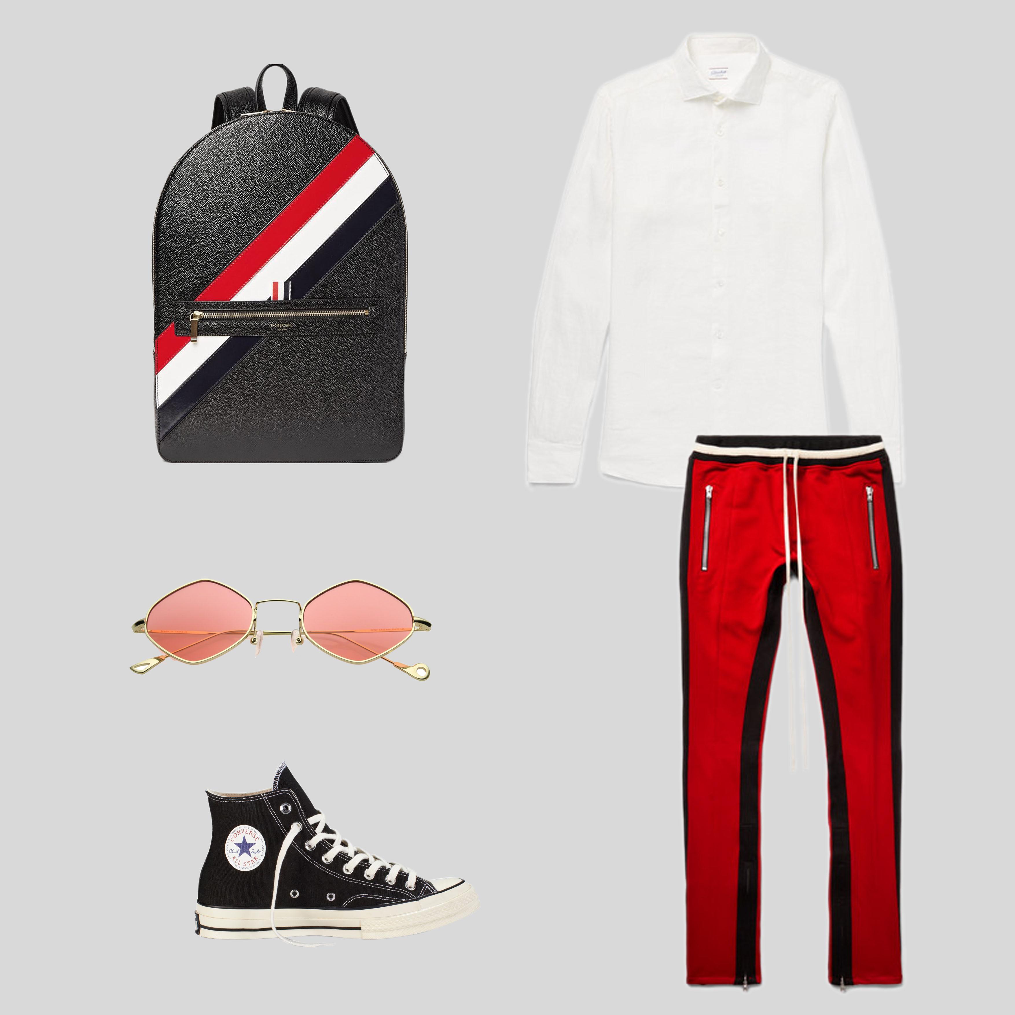 ELLE Man Style Calendar Bảy ngày hoàn hảo với áo sơ mi trắng linen. (3)