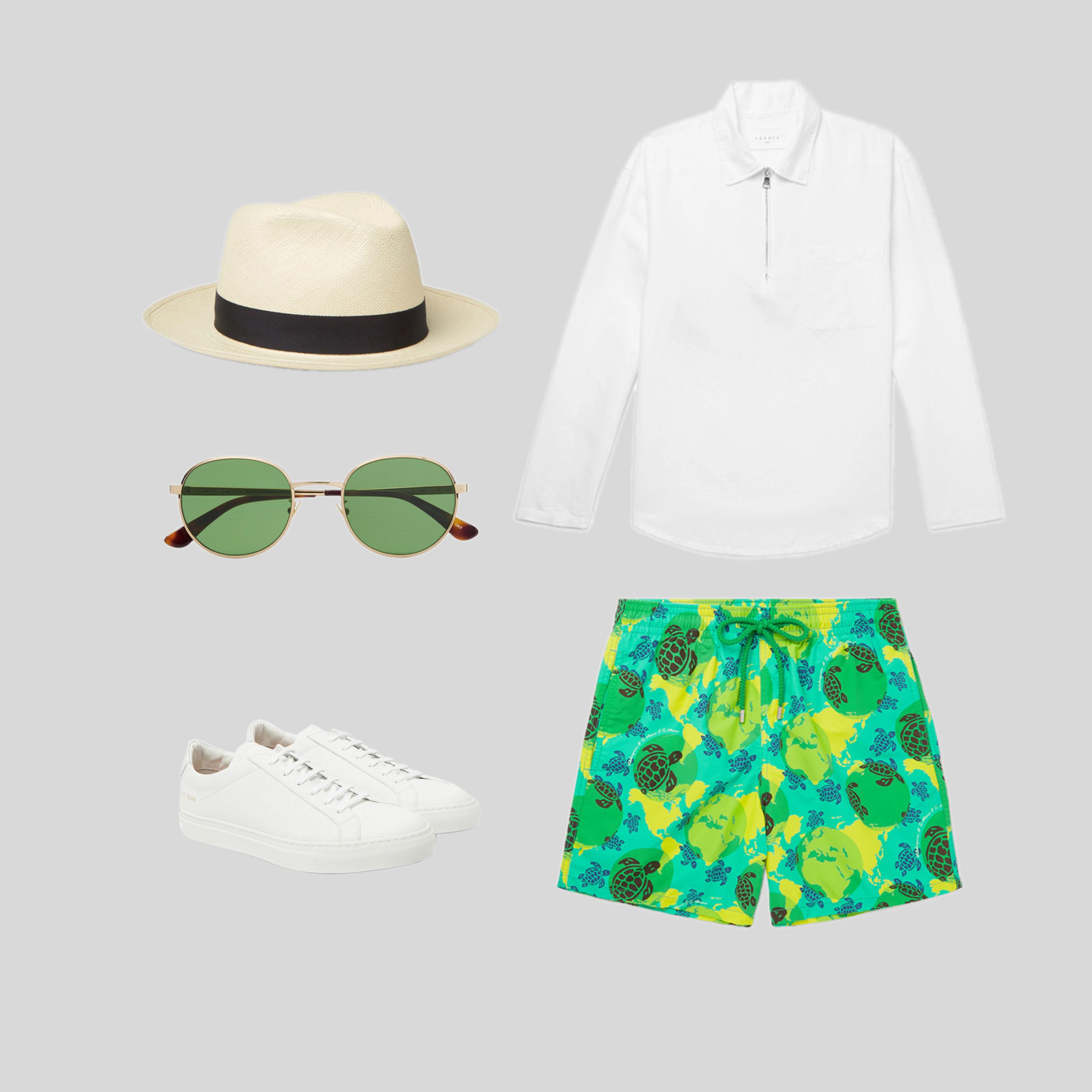 ELLE Man Style Calendar Bảy ngày hoàn hảo với áo sơ mi trắng linen. (6)