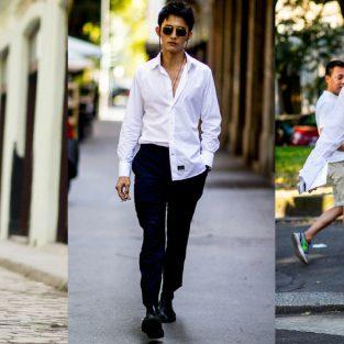 ELLE Man Style Calendar: 7 ngày hoàn hảo với áo sơ mi trắng linen