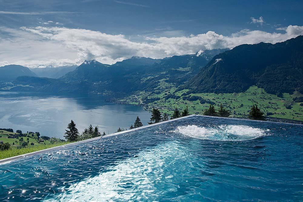mui huong Chanel Villa Honegg, Lake Lucerne, Switzerland - elle man