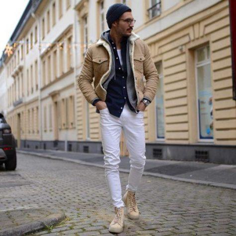 Những đôi giày đơn giản luôn thích hợp với jean trắng. Ảnh: Imaxtree