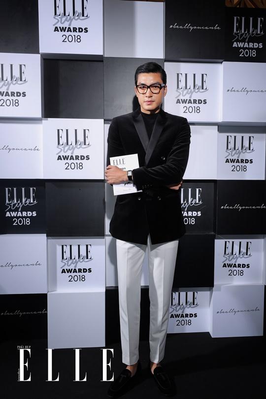 Quang Đại xuất hiện lịch lãm tại lễ trao giải ELLE Style Awards. Ảnh: Đại Ngô Studio