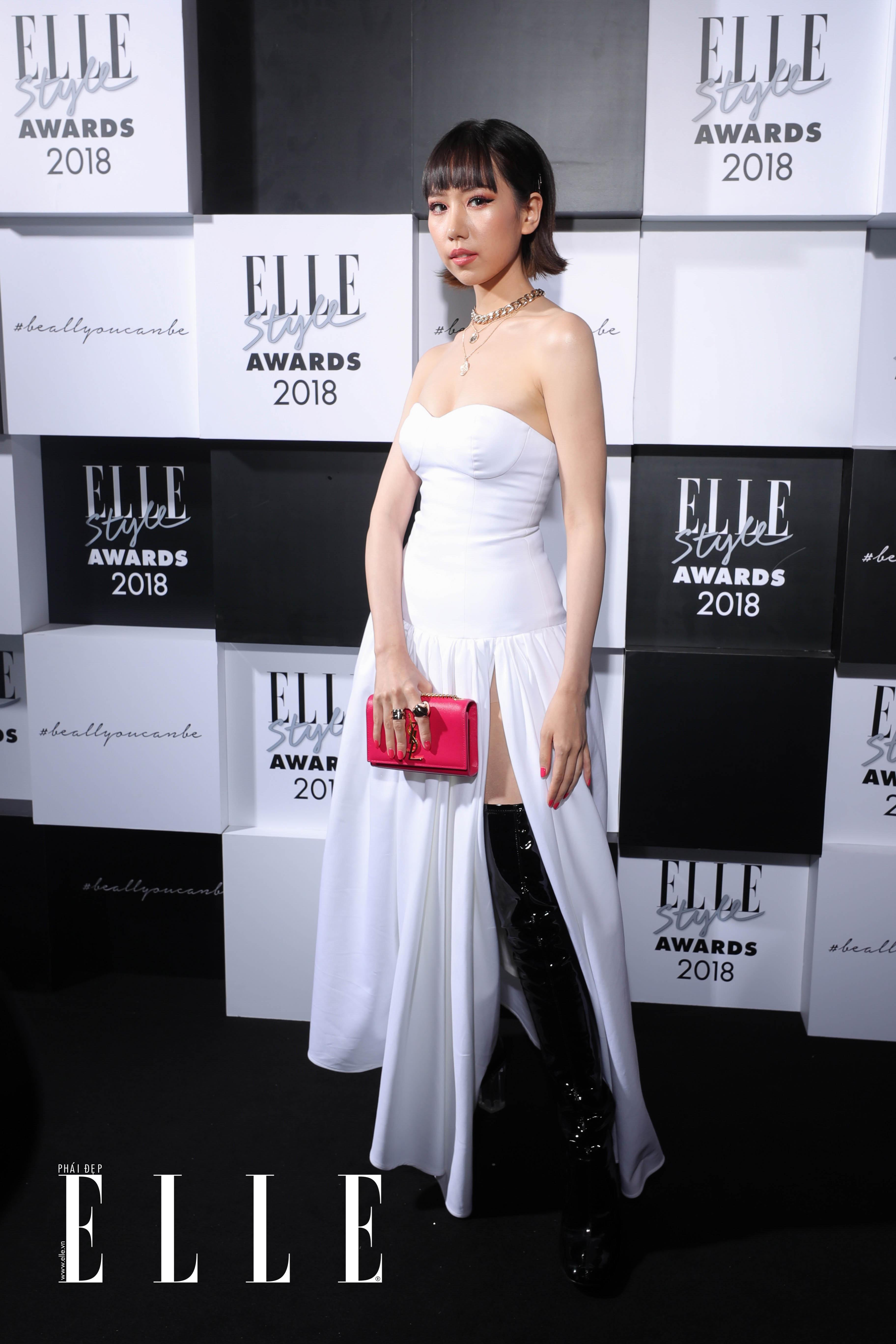 Ca sỹ MIN tại lễ trao giải ELLE Style Awards 2018