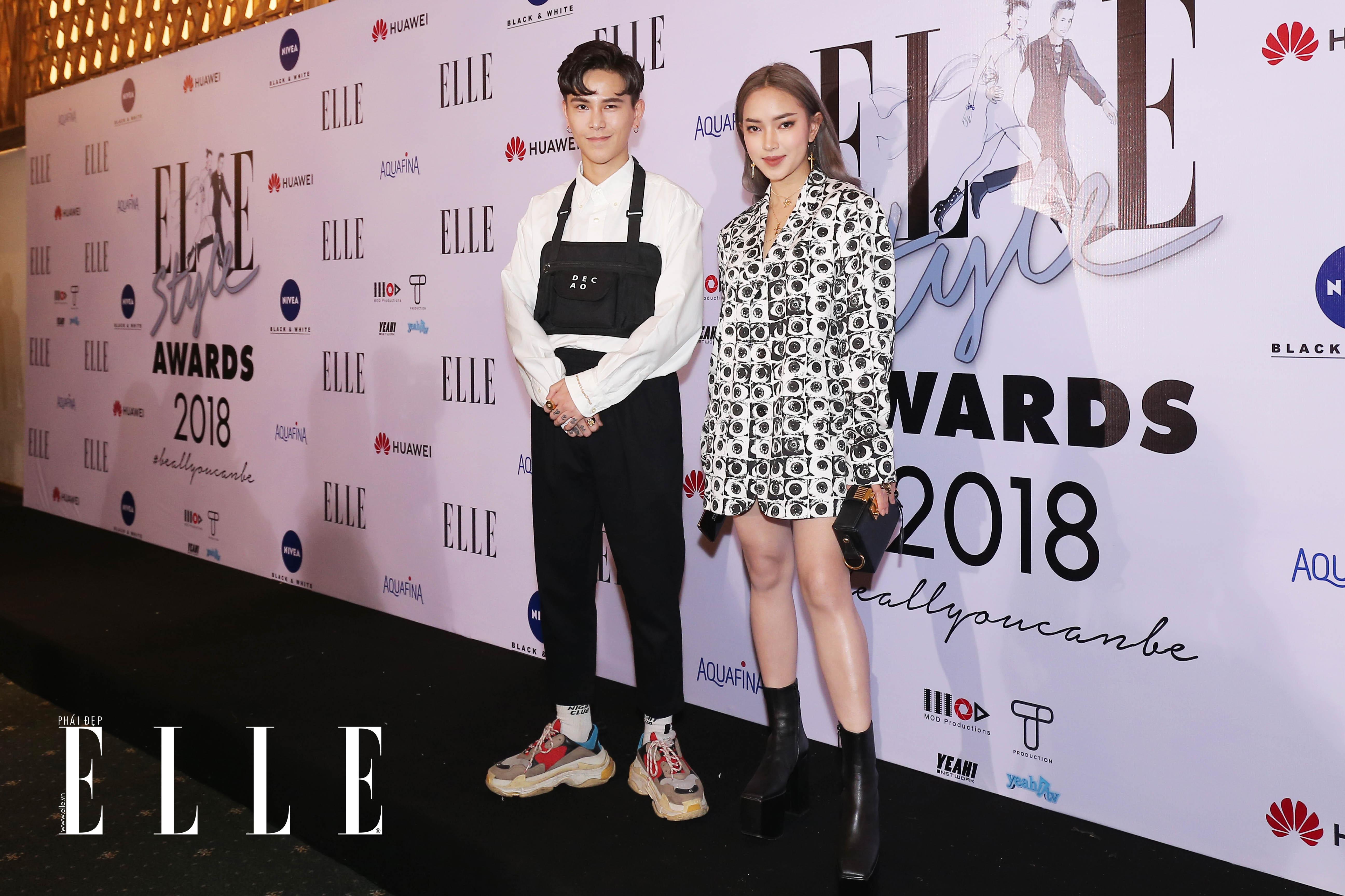 châu bùi elle style awards 12