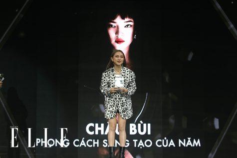 Châu Bùi đoạt giải Young Style Innovator tại ELLE Style Awards 2018