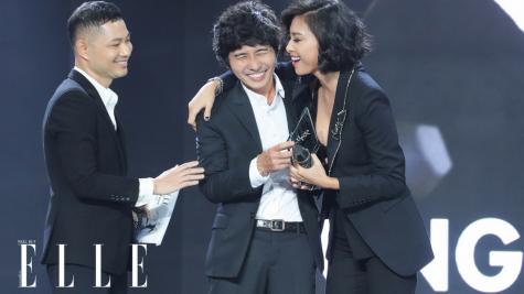Make-up Artist Tùng Châu đoạt giải Cống Hiến cho Thời Trang tại ELLE Style Awards 2018