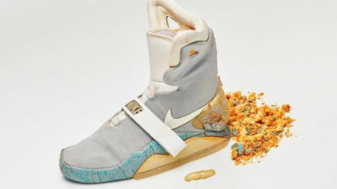 Giày sneaker Nike Mag của Back To the Future II trở lại sàn đấu giá