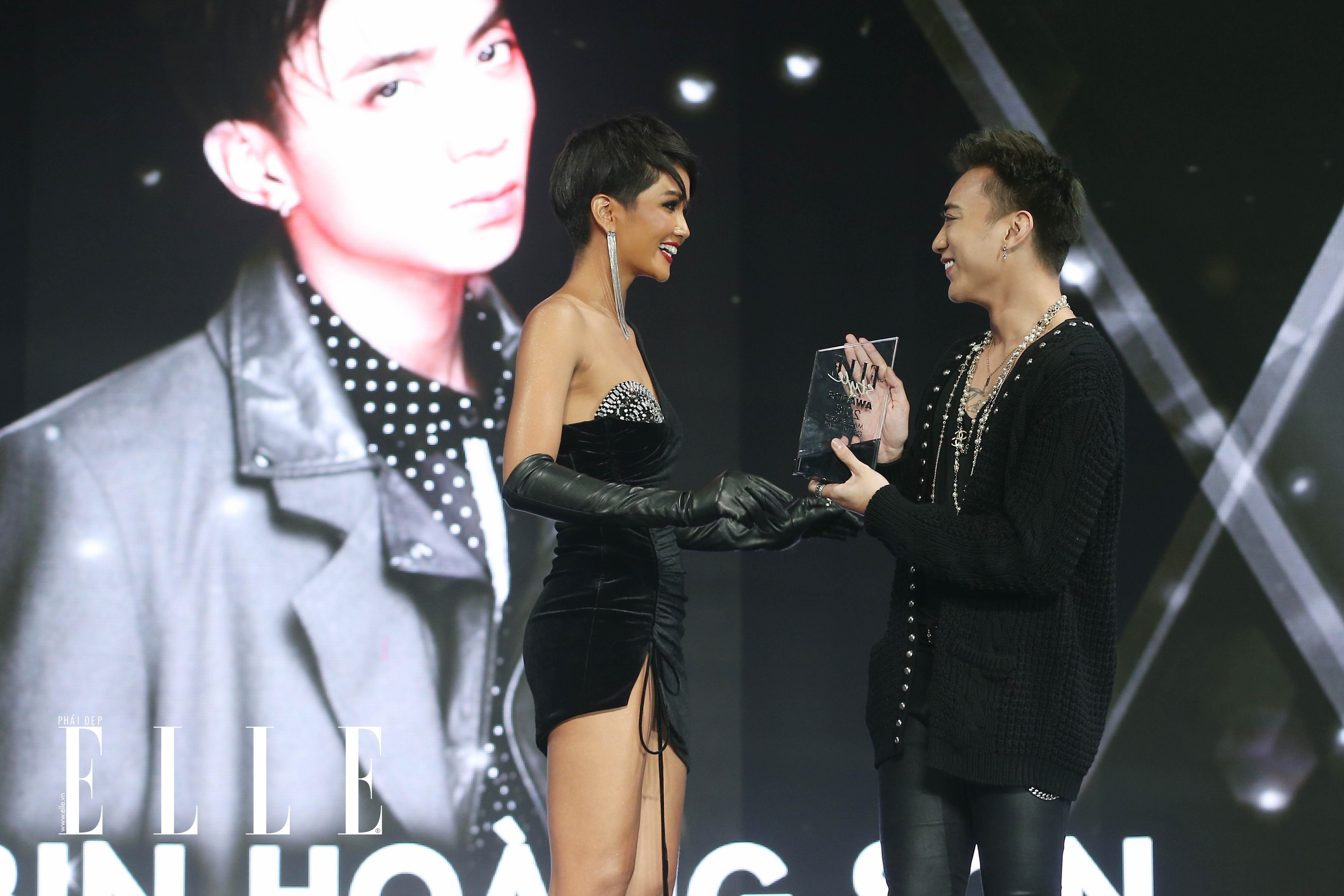 Soobin Hoàng Sơn tại lễ trao giải ELLE Style Awards 2018
