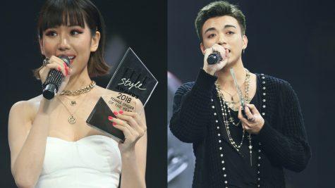 Soobin Hoàng Sơn và Min được vinh danh Nam ca sĩ & Nữ ca sĩ phong cách nhất năm tại ELLE Style Awards 2018