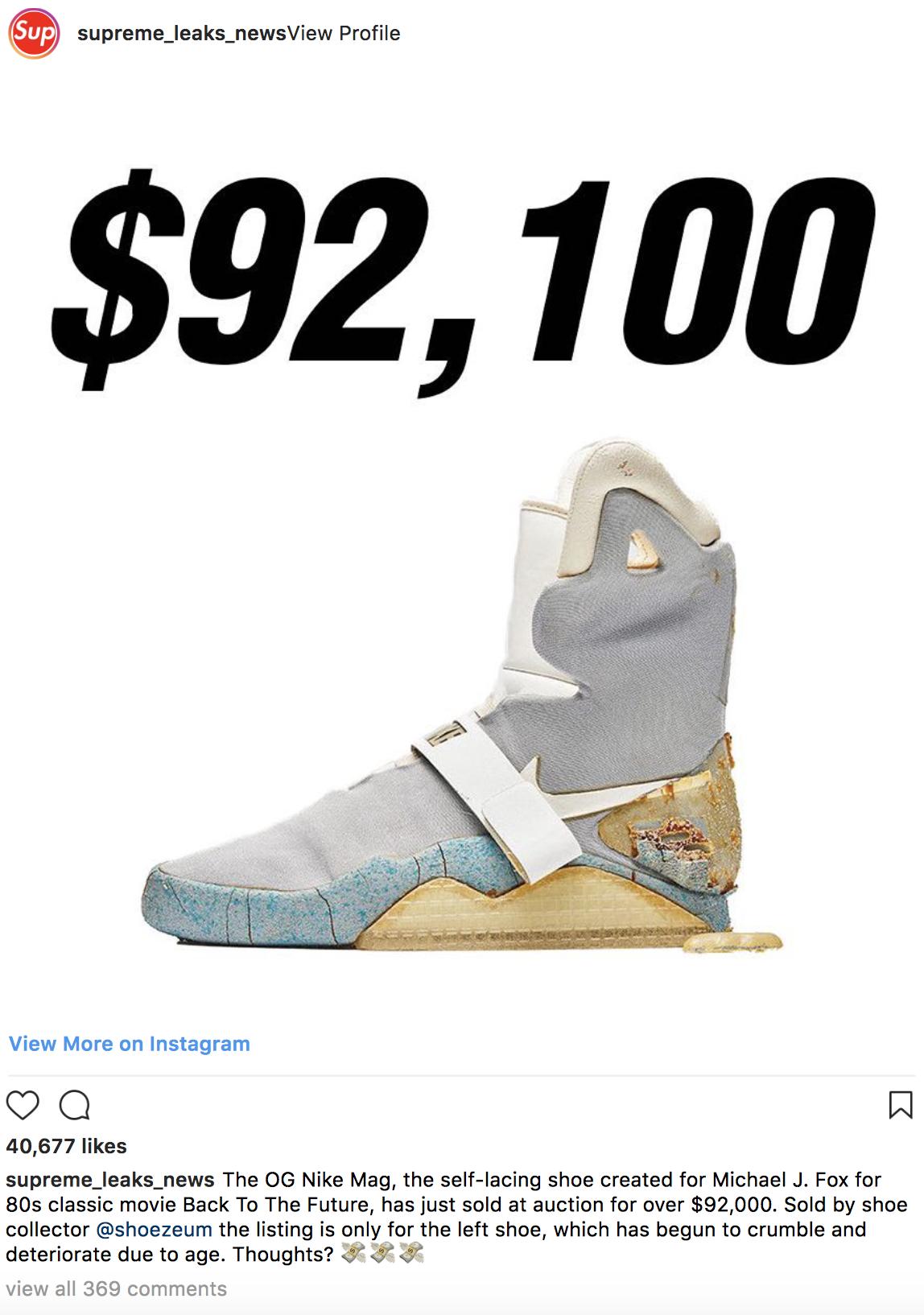 giay sneaker nike mag update - elle man 1