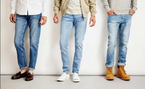 Những kiểu quần jeans đa dạng luôn là món đồ không thể thiếu của mọi chàng trai. Ảnh: The Idle Man