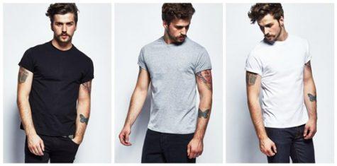 Những chiếc áo thun trơn là lựa chọn hàng đầu của những quý ông yêu thích sự đơn giản. Ảnh: The Idle Man