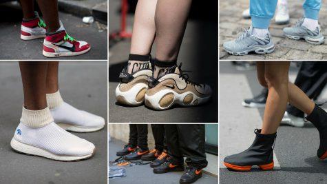 Nhìn ngắm những đôi giày sneaker nam nổi bật từ Tuần lễ thời trang Paris 2018
