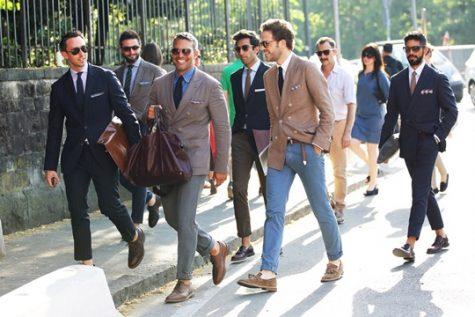 Những bộ suit luôn tạo nên vẻ sang trọng lịch lãm cho các quý ông. Ảnh: Carl Nave