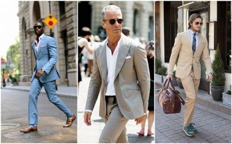 Hãy thông minh khi mặc suit mùa hè với những bí quyết của ELLE Man. Ảnh: Wministry