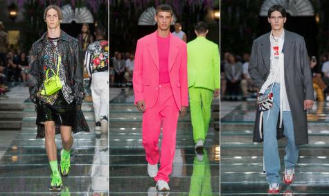 BST Versace Xuân-Hè 2019: Một khía cạnh đàn ông mới