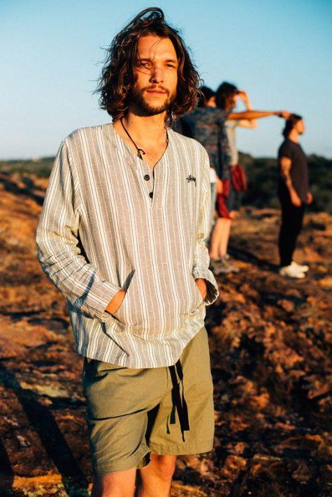 Phong cách Hippie truyền thống mang đậm sự phóng khoáng. Ảnh: Pinterest