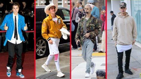 Phong cách thời trang của Justin Beiber thay đổi thường xuyên trong thời gian qua. Ảnh: Youtube