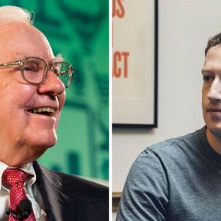 Mark Zuckerberg vẫn chưa thể vượt qua Warren Buffett trong top những người giàu nhất thế giới