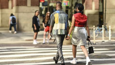 Ngắm nhìn thời trang đường phố tại Tuần lễ thời trang nam New York Xuân-Hè 2019