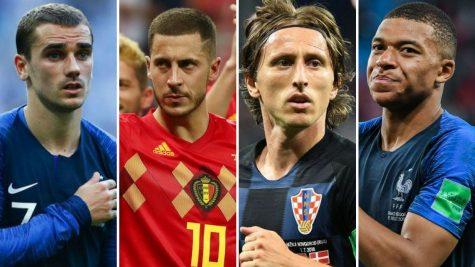 10 cầu thủ xuất sắc nhất World Cup 2018
