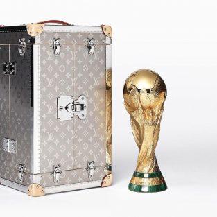 Ngắm nhìn lại vali đựng cúp vàng World Cup 2018 của thương hiệu Louis Vuitton