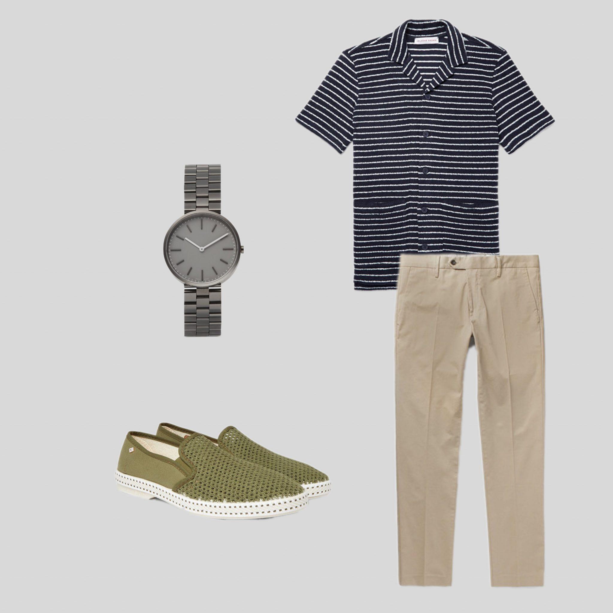 ELLE Man Style Calendar mix & match trang phục du lịch biển. (17)
