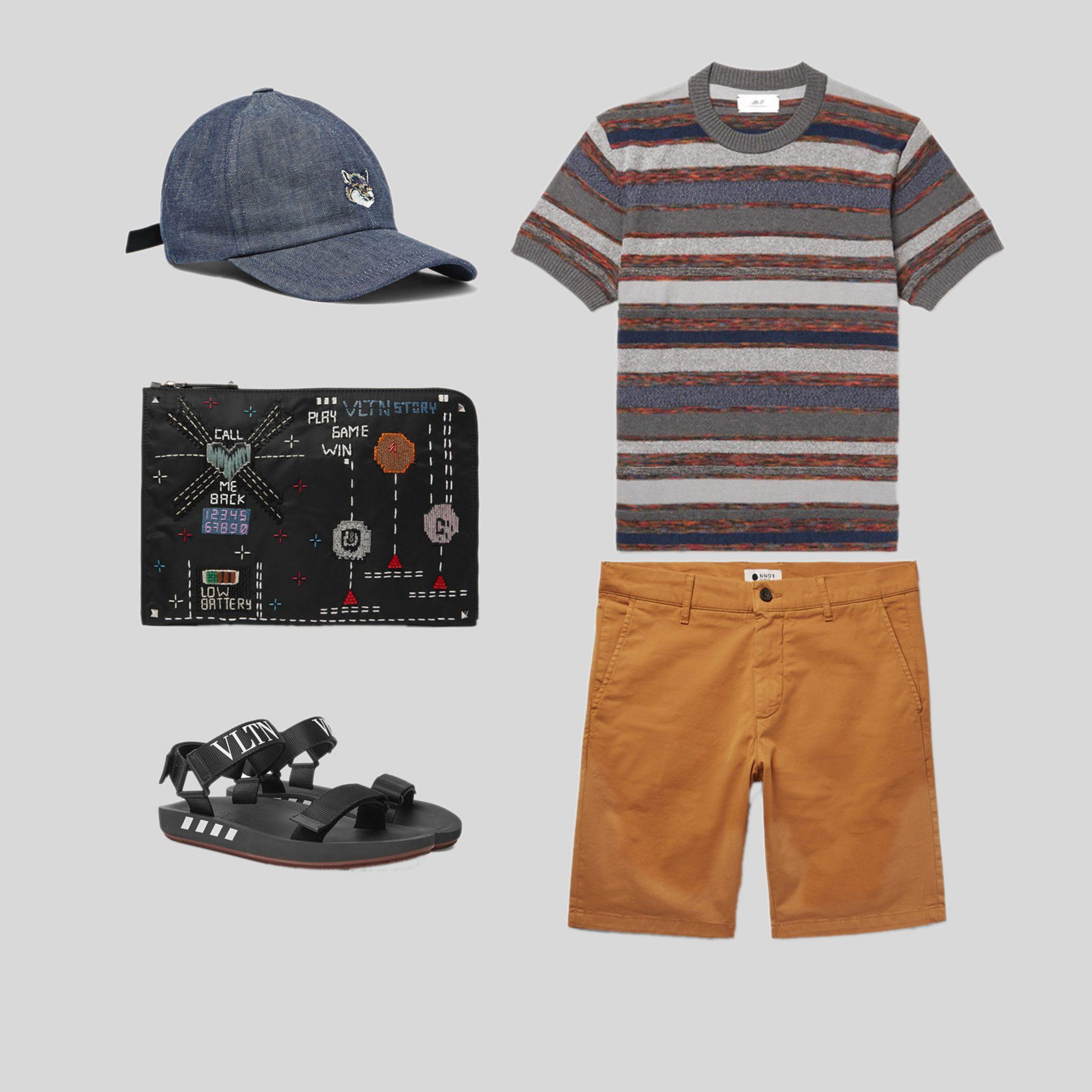 ELLE Man Style Calendar mix & match trang phục du lịch biển. (18)
