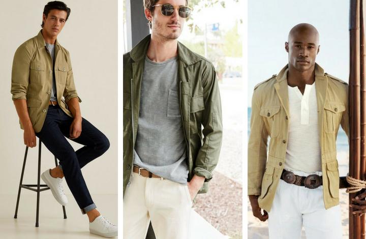 áo khoác Safari 2 - elle man
