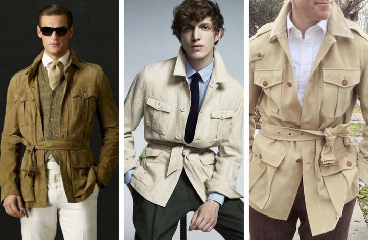 áo khoác safari 3 - elle man
