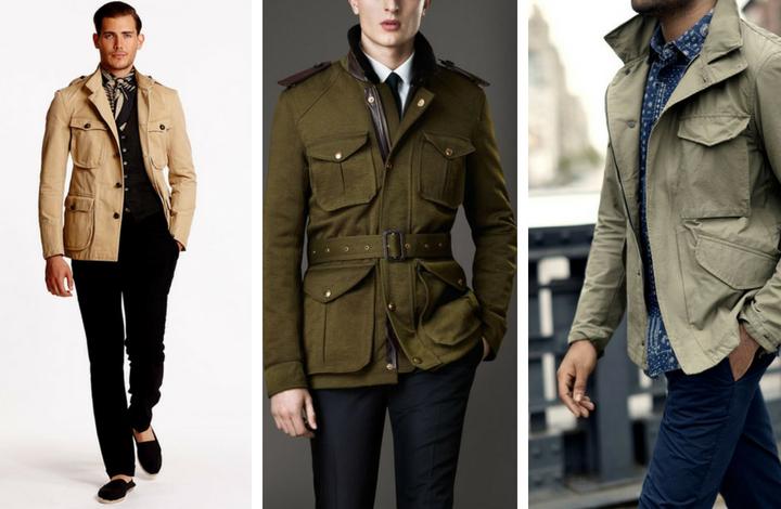 áo khoác safari 4 - elle man