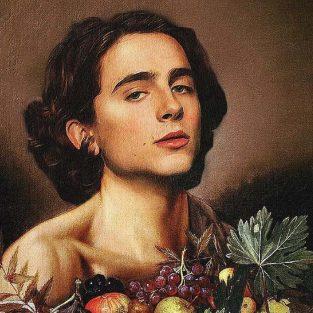 """Timothée Chalamet  """"hóa thân"""" chàng thơ với các tác phẩm nghệ thuật cổ điển"""