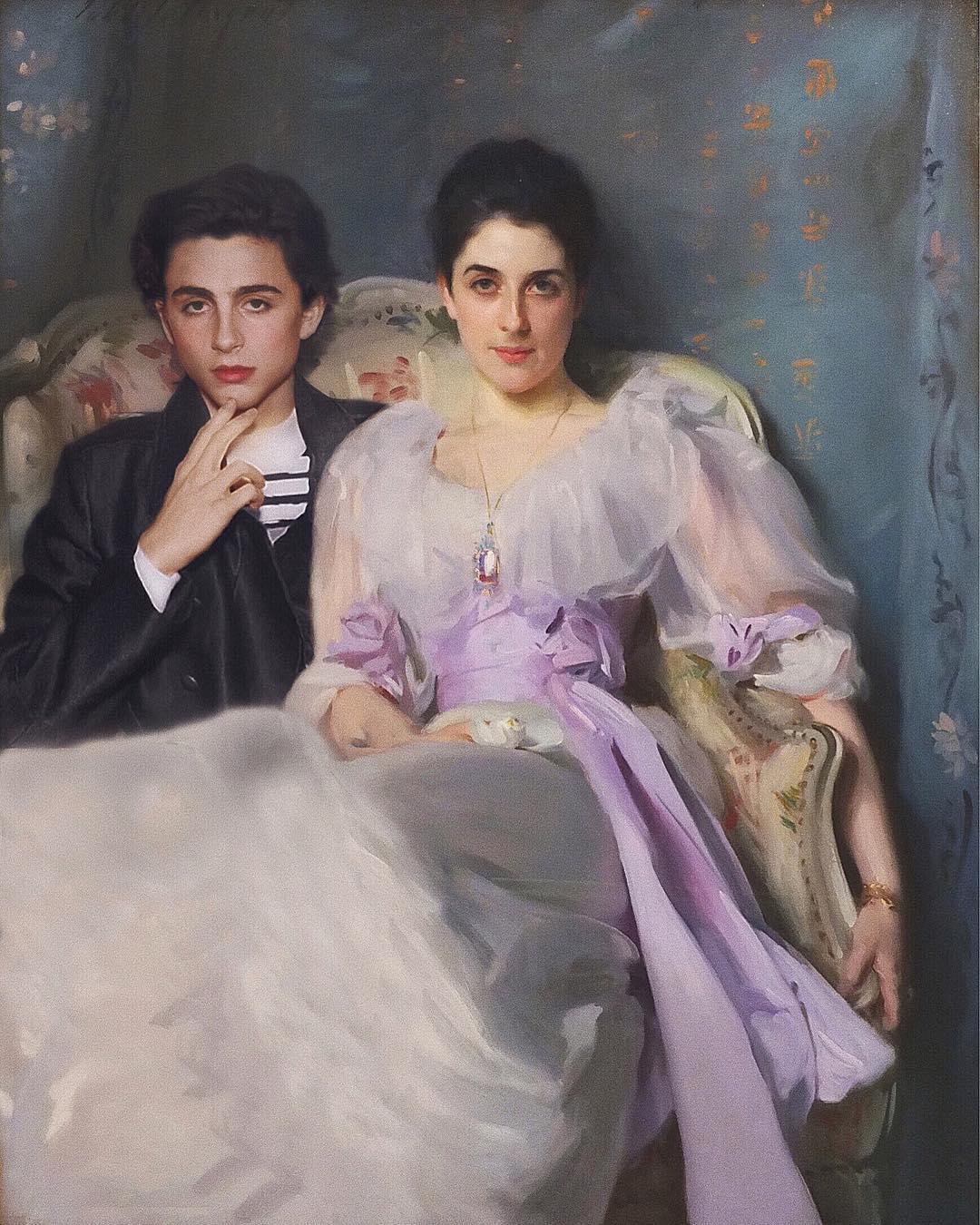 Lady Agnew of Lochnaw năm 1892 của John Singer Sargent.