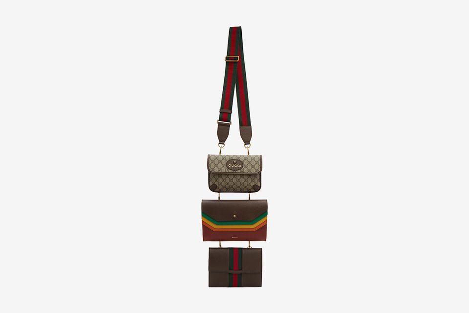 Mẫu túi đeo cổ nam độc lạ của Gucci khiến mọi tín đồ thời trang đều mong muốn sở hữu. Ảnh: Highsnobiety