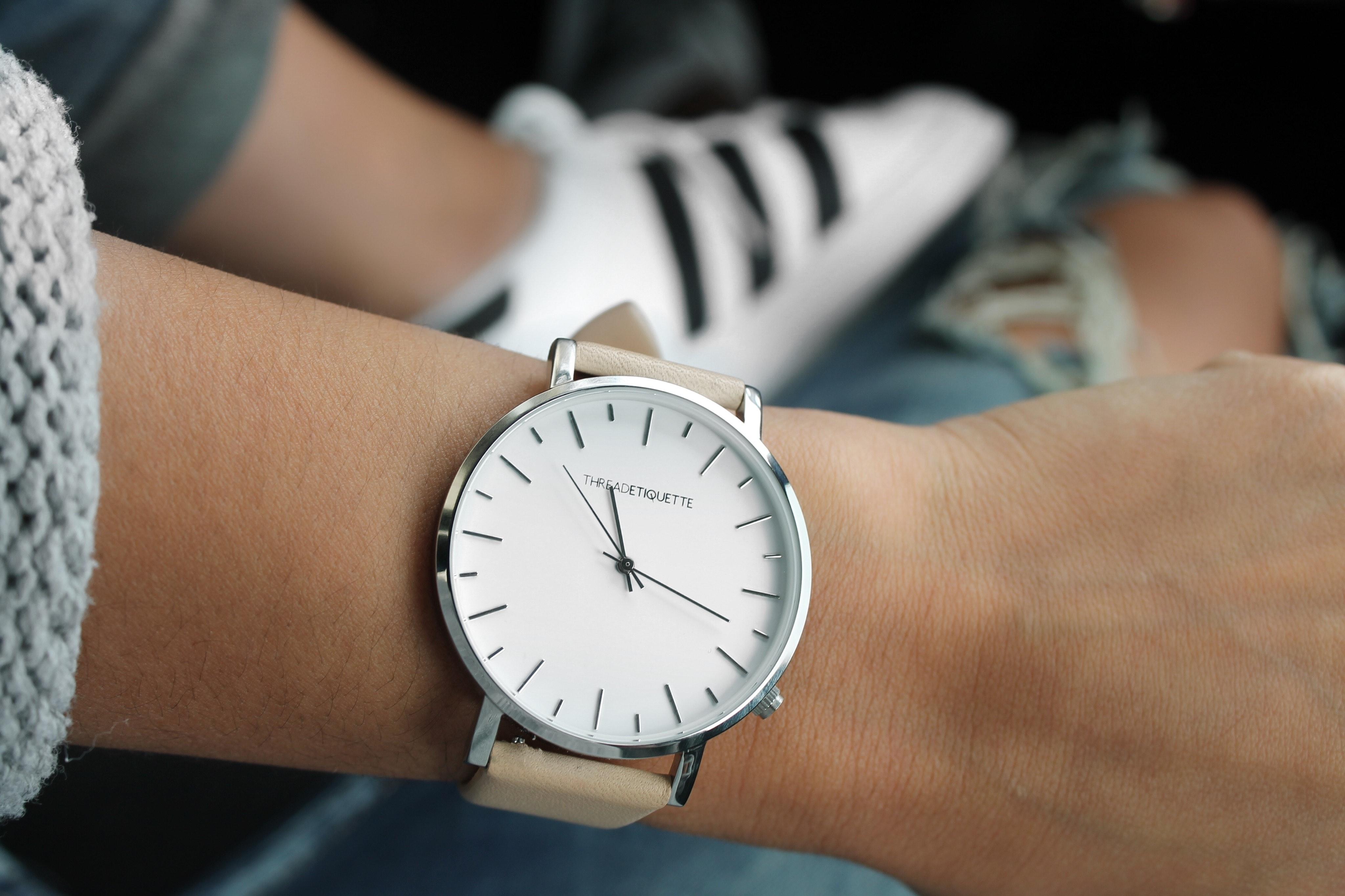 Chiếc đồng hồ là thông điệp đơn giản nhất về tính cách của một quý ông. Ảnh: Pexels