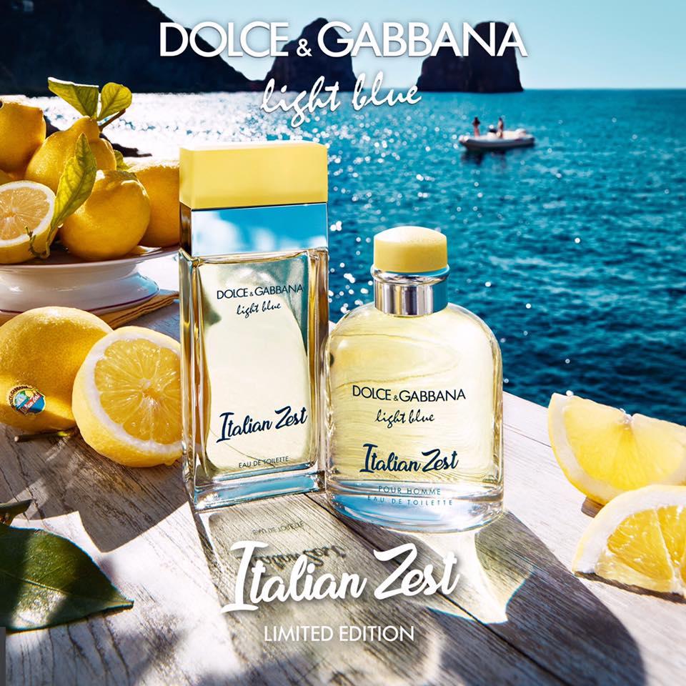 Nước hoa tươi mát cho những ngày hè nóng nực của thương hiệu D&G có giá khoảng 80$. Ảnh: Fragrantica