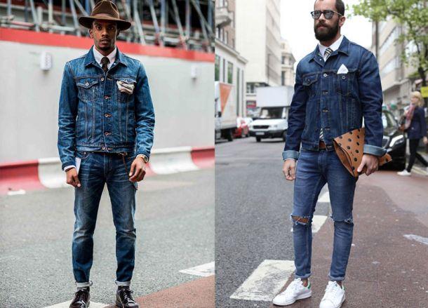 quan jeans rach - double denim - elle man 1