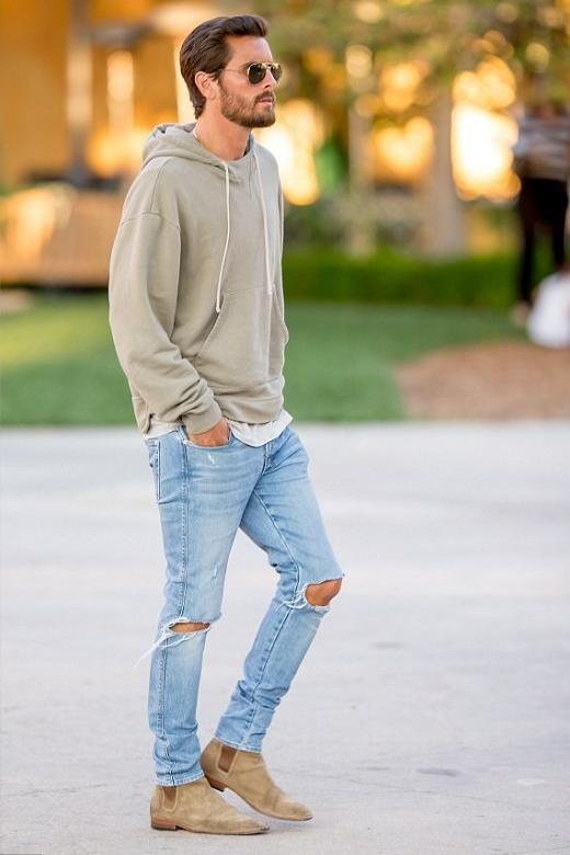 quan jeans rach & hoodie - elle man 3