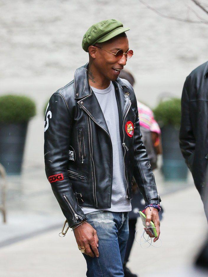 quan jeans rach & leather jacket - elle man 1