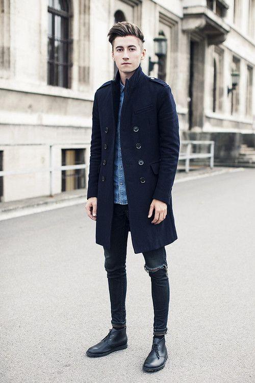 quan jeans rach & overcoat - elle man 2
