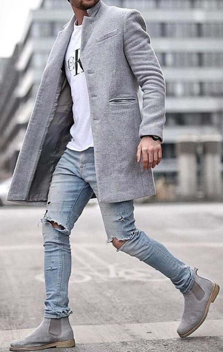 quan jeans rach & overcoat - elle man 4