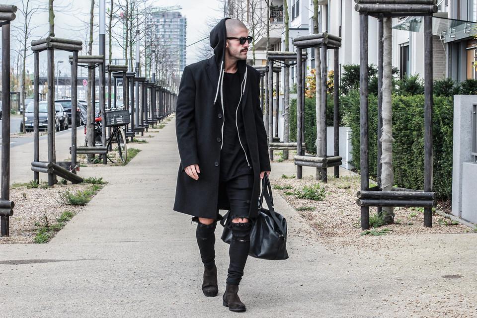 quan jeans rach & overcoat photo Lookbook.nu - elle man 3